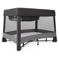 4moms Breeze Plus Portable playard with Removable Bassinet and Changing Station - Easy one Push...