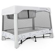 4moms Breeze Classic Portable playard with Removable Bassinet - Easy one Push Open, one Pull Close, from The Makers of The mamaRoo