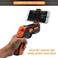 /Aabir AR Gun  Target Games Augmented Reality, Safe and Novelty Toys for Adults Kids Boys Girls Teens Controller Suitable for All Phones iPhone Models, Samsung Galaxy Series and Ot