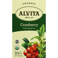 Alvita Tea Organic Cranberry Herbal Tea Bags, 24 Count by Alvita