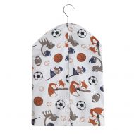 Bedtime Originals Baby League Sports Animals Diaper Stacker, White