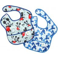 Bumkins SuperBib, 2 Pack - Disney Mickey Mouse