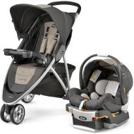 Chicco Viaro Travel System - Teak