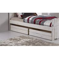 Donco Kids 1384-RS Dual Under Bed Drawer Rustic Sand, One Size