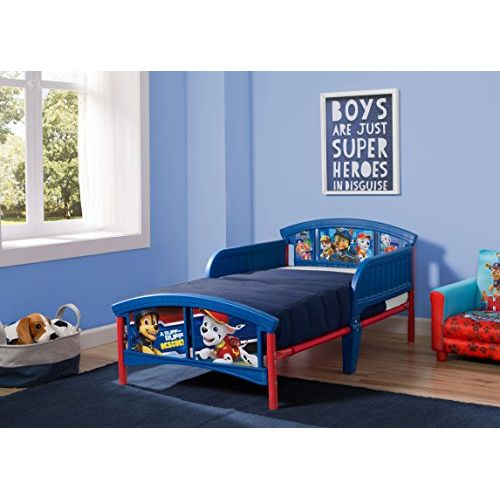 Delta Children Plastic Toddler Bed, Marvel Spider-Man