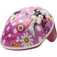 Generic Disney Minnie Mouse Self-Adjust Toddler Helmet With High-Impact Reflectors For Visibility, For 3 Years And Up, Pink