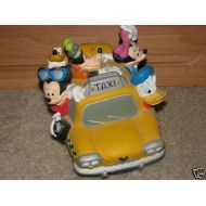 Disneys FAB 5 TAXI CAB Vinnyl Coin Bank by Disney
