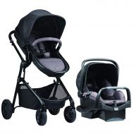Evenflo Pivot Modular Travel System, Navy