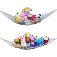 FZY Stuffed Animal Hammock & Toy Hammock - 2PACK- Organizer Stuffed Animals with This mesh Looks Great with Any Decorate While neatly organizing Kid's Toys and Stuffed Animals.