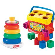 Fisher-Price Rock-a-Stack and Babys 1st Blocks BundleBabya€s First Blocks offer put & take play, as well as stacking, sorting and matching to help.., By FisherPrice