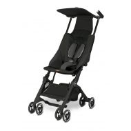 Gb Pockit Lightweight Stroller, Monument Black, 9.5 Pounds
