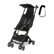 Gb 2017 GB Pockit Stroller - FREE BABY GEAR XPO STROLLER HOOK WITH PURCHASE (Monument Black)