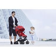 Gb gb 2018 Buggy QBIT+ WITH Bumper Bar Satin Black- from birth up to 17 kg (approx. 4 years) - GoodBaby QBIT PLUS