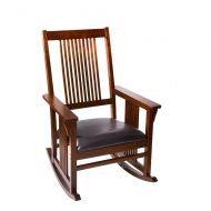 Gift Mark Mission Rocking Chair Color: Cherry