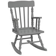 Gift Mark Childs Spindle Rocking Chair, Grey