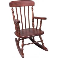 Gift Mark Childrens Spindle Rocking Chair, Cherry