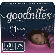 GoodNites Bedtime Bedwetting Underwear For Girls (Choose Your Size and Count)