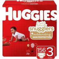 Huggies Little Snugglers Baby Diapers, Size 3, 156 Ct, One Month Supply: Baby