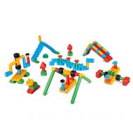 Hape 760011 Polym Adventure Playground Kit Building Blocks, Multicolor