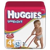 Huggies Baby Diapers, Snug & Dry, Size 4 (22 - 37 lbs), 29 ct