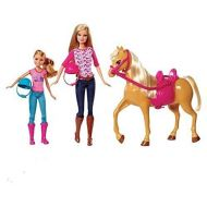 . Barbie Pink-tastic Horse & Dolls