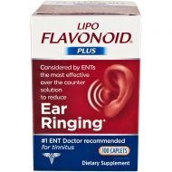 Lipo-Flavonoid Plus Unique Ear Health Caplets, 2 Count by Lipo-Flavonoid
