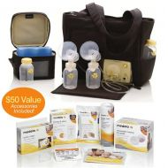Medela Pump In Style Advanced On-the-Go Tote Solution Set + Free Accessory Set