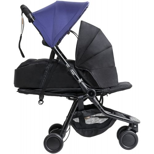 Mountain Buggy Nano Stroller V2 (2016) Nautical
