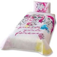 NewyHome Equestria Girls Twin 100% Cotton Bedding Bedspread/Coverlet Set 3 Pcs