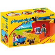 PLAYMOBIL Take Along Market Stall Building Set