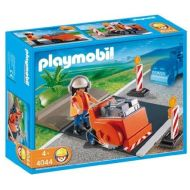 PLAYMOBIL Playmobil Asphalt Cutter Construction Set