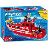 PLAYMOBIL Playmobil Fire Rescue Boat With Pump (C)