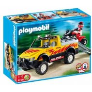 PLAYMOBIL Pick-Up Truck with Quad Bike by Playmobil