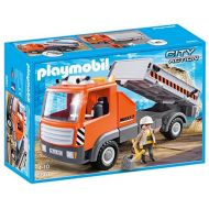 PLAYMOBIL 6861 Flatbed Workmans Truck