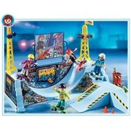 PLAYMOBIL Playmobil Skate Park With Half Pipe