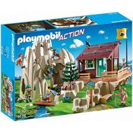 PLAYMOBIL 9126 Climbing rock with mountain hut