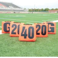 Pro Down Solid Sideline Markers 5pc Set