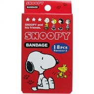Peanuts Snoopy adhesive bandages Cute Band Aid 18 pcs 17AUGSR01