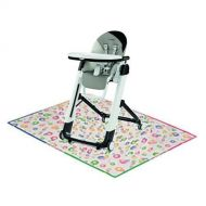 Peg Perego - Siesta High Chair Palette Grey with Splat Mat
