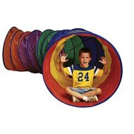 Sportime Connectable Ripstop Nylon MegaTunnel - 3 x 12 feet - Multiple Colors
