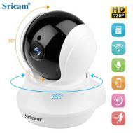 Wireless IP camera Sricam SP020 720p HD wifi Night Vision,Two Way Audio Camera for Pet Baby Monitor, Home Security Camera Motion Detection Indoor Camera