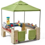 Step2 874100 All Around Playtime Patio with Canopy Playhouse