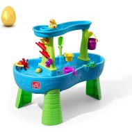 Step2 Rain Showers Splash Pond Water Table Playset - Deluxe Pack Toys Included (Deluxe Pack)