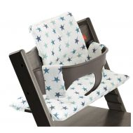 Stokke Tripp Trapp Chair Cushion, Aqua Star