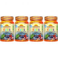 Sundown Naturals Marvel Avengers Multivitamin Gummies Assorted Flavors - 60 ct, Pack of 4