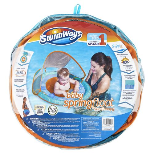 스윔웨이즈 SwimWays Swimways - Babys Spring Float with Canopy