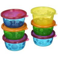 The First Years Take & Toss Toddler Bowls with Lids - 8oz, 6 pack
