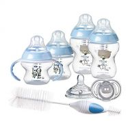 Tommee Tippee Tommee Tippee Closer to Nature Newborn Baby Bottle Feeding Starter Set - Blue, Boy