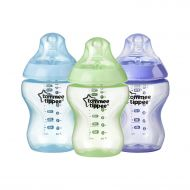 /Tommee Tippee Closer to Nature Color My World Feeding Bottles, Boy, 9 Ounce, 3 Pack