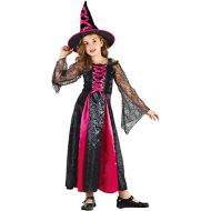 U LOOK UGLY TODAY Girls Halloween Costume Vampire Party Dress Costume for Girls Cosplay Dress Up Party
